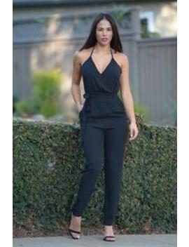 Maybelline Jumpsuit   Black by Fashion Nova