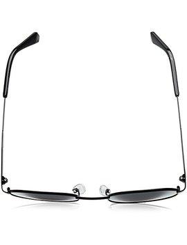 Polaroid Sunglasses Pld2053s Polarized Oval Sunglasses, Black, 51 Mm by Polaroid Sunglasses