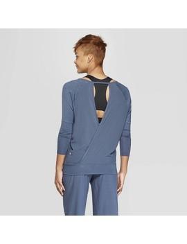 Women's Long Sleeve Banded Bottom T Shirt   C9 Champion® by Shirt
