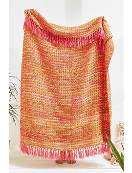 Woven Throw Blanket by Urban Outfitters