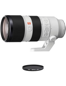 Fe 70 200mm F/2.8 Gm Oss Lens With Circular Polarizer Filter Kit by Sony
