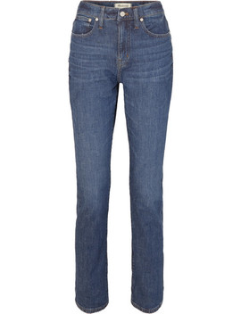 The High Rise Slim Boyjean Jeans by Madewell