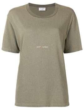 Klassiek Saint Laurent Square T Shirt by Saint Laurent