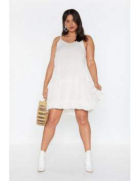 Give It A Twirl Tiered Cheesecloth Dress by Nasty Gal