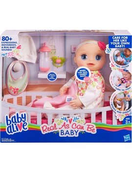 Real As Can Be Baby Doll by Baby Alive