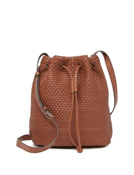 Bethany Weave Leather Bucket Bag by Cole Haan