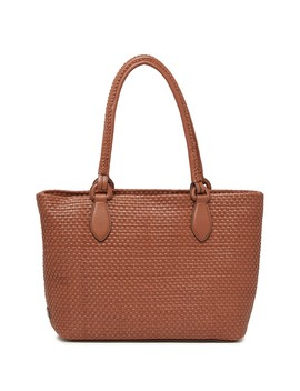 Bethany Weave Medium Leather Tote by Cole Haan