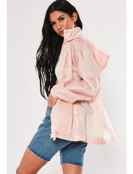 Nude Pac A Mac Bumbag Jacket by Missguided