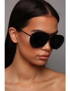 All About You Sunglasses   Black/Black by Fashion Nova