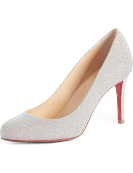 Fifille Glitter Pump by Christian Louboutin