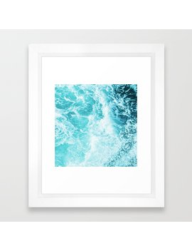perfect-sea-waves-framed-art-print by society6
