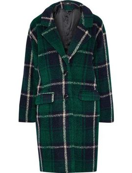 Seymour Checked Fleece Coat by Line