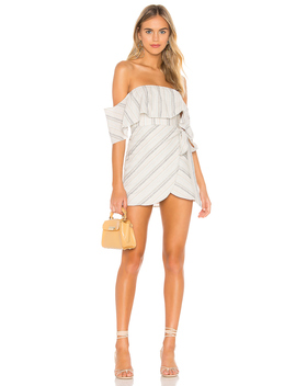 Kona Off Shoulder Dress by Superdown