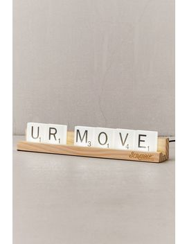 Scrabble Tile Light by Urban Outfitters