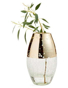 Large Metallic Glass Vase by Nordstrom At Home