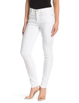 Gwenevere Solid Skinny Jeans by 7 For All Mankind