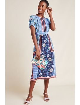 Eliason Floral Midi Dress by Kachel