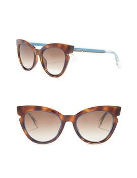 51mm Cat Eye Sunglasses by Fendi
