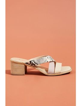 Anthropologie Mac Kenzie Heeled Slide Sandals by Anthropologie
