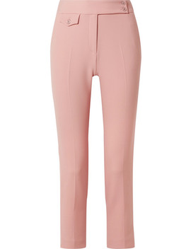 Renzo Crepe Tapered Pants by Veronica Beard