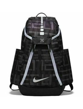 Nike Air Max Hoops Elite 2.0 Backpack Black White School Basketball Ba5260 013 by Nike