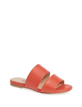 Siamese Leather Slide Sandal by Charles David