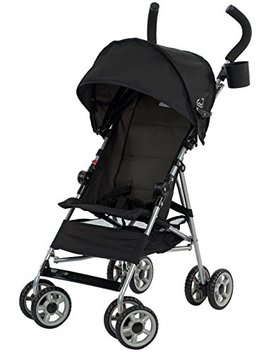 Kolcraft Cloud Lightweight Umbrella Stroller With Large Sun Canopy, Black by Kolcraft