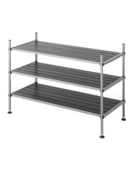 Whitmor 3 Tier Closet Storage Shelves    Shoe Rack And Home Organizer by Whitmor