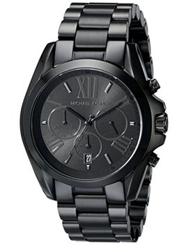Michael Kors Men's Bradshaw Blacktone Chronograph Watch by Michael Kors