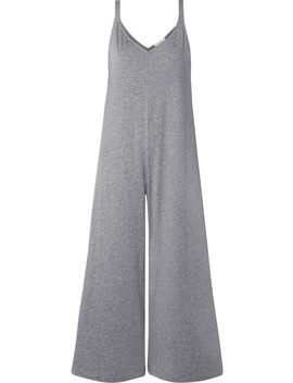 Charlie Slub Pima Cotton Jersey Jumpsuit by Eberjey