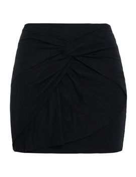 Cotton And Modal Blend Jersey Mini Skirt by Iro