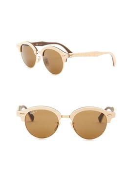 51mm Phantos Round Sunglasses by Ray Ban