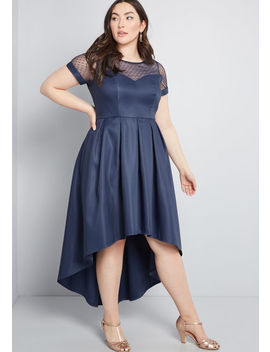 Grandest Gathering Pleated Dress by Chi Chi London