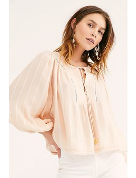 Wrapped In Rhythm Blouse by Free People