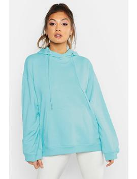 Slouch Fit Basic Hoody by Boohoo