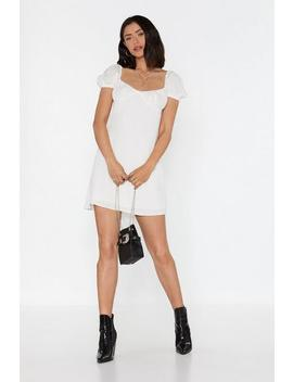 Cheesecloth Bustier Mini Dress by Nasty Gal