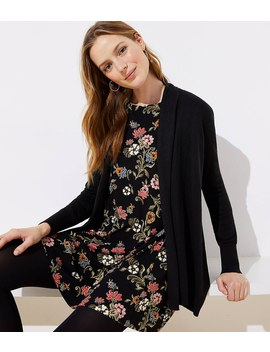 Petite Soft Open Cardigan by Loft