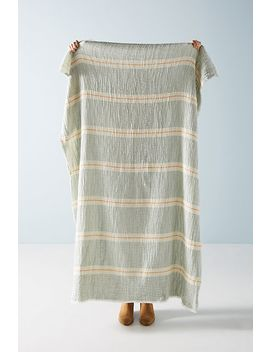 Bibi Throw Blanket by Anthropologie