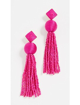 Azura Tassel Earrings by Bauble Bar