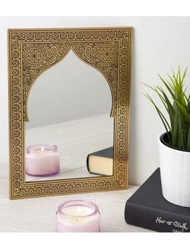 Gold Etched Mirror by New Look