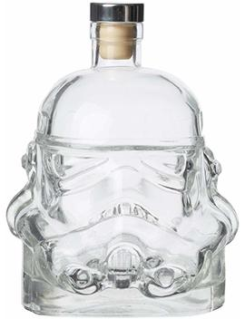 Stormtrooper Star Wars Decanter Rogue One The Force Awakens Helmet Clear Glass by Thumbs Up