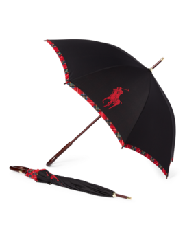 Big Pony Plaid Umbrella by Ralph Lauren