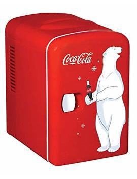 Koolatron Kwc 4 Red Portable Mini Cooler by Koolatron