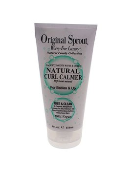 Original Sprout Natural Curl Calmer. All Natural Hair Care. Curly Hair Moisturizer And Hair Strengthener. 4 Oz. by Original Sprout