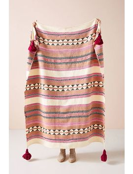 Woven Lakshmi Throw Blanket by Anthropologie