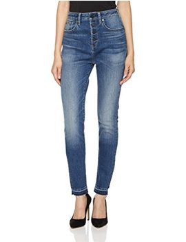 Hale Women's Sunny Sculpted High Rise Skinny Jean With Button Fly by Hale