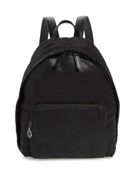 Small Falabella Faux Leather Backpack by Stella Mccartney