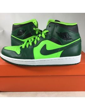 2012 Rare Xcss Sample Nike Air Jordan 1 Mid Hulk Gorge Green 554724330 Size 9 K4 by Nike