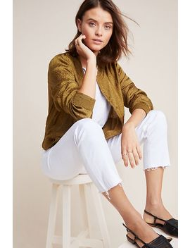 Silky Bomber Jacket by Anthropologie