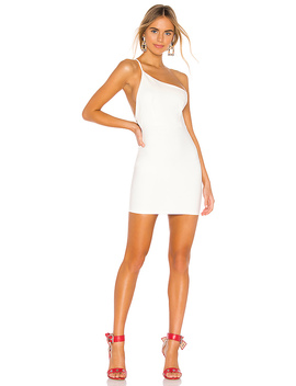 Brigette One Shoulder Dress by Superdown